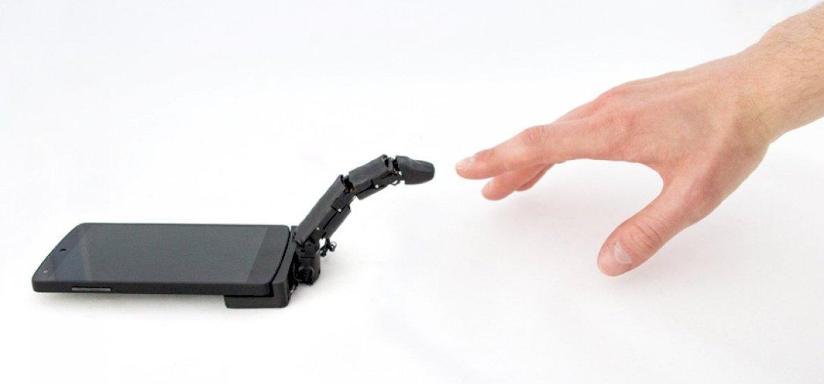 Most már a mobilodnak is lehet saját ujja