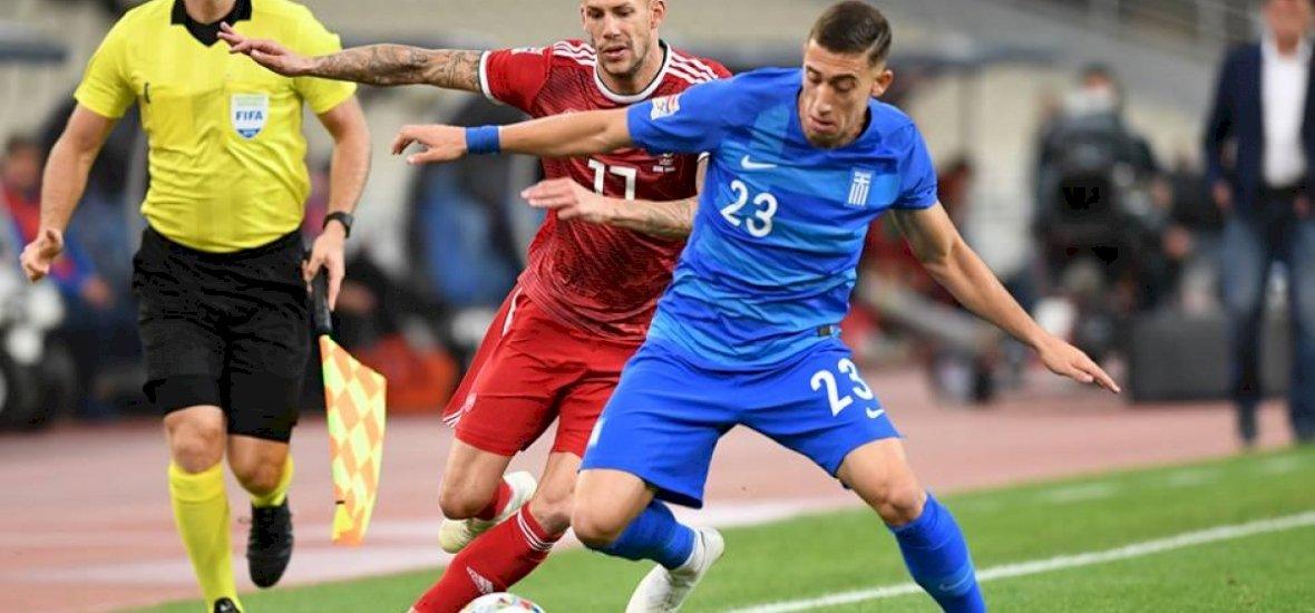 Bosszantó vereséget szenvedett a válogatott Görögországban