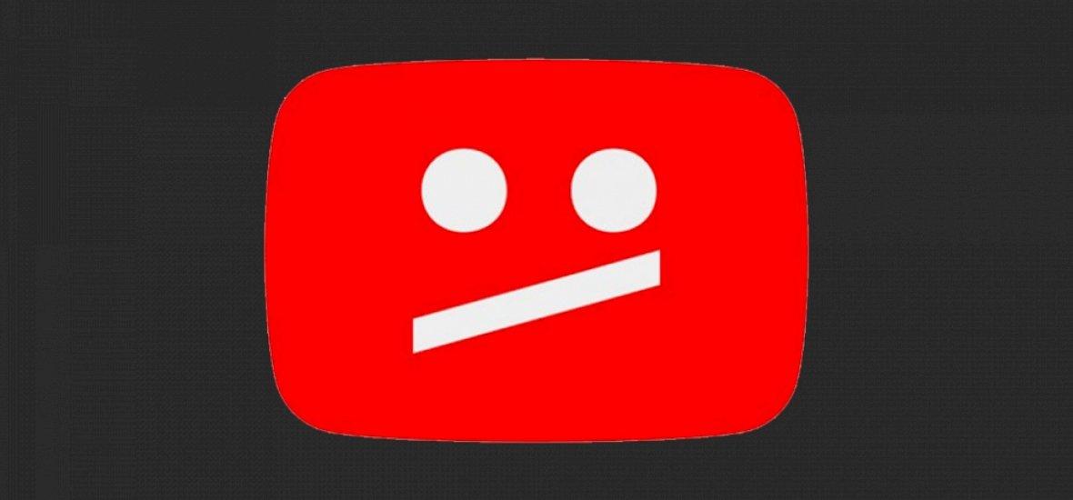 Összeomlott a YouTube