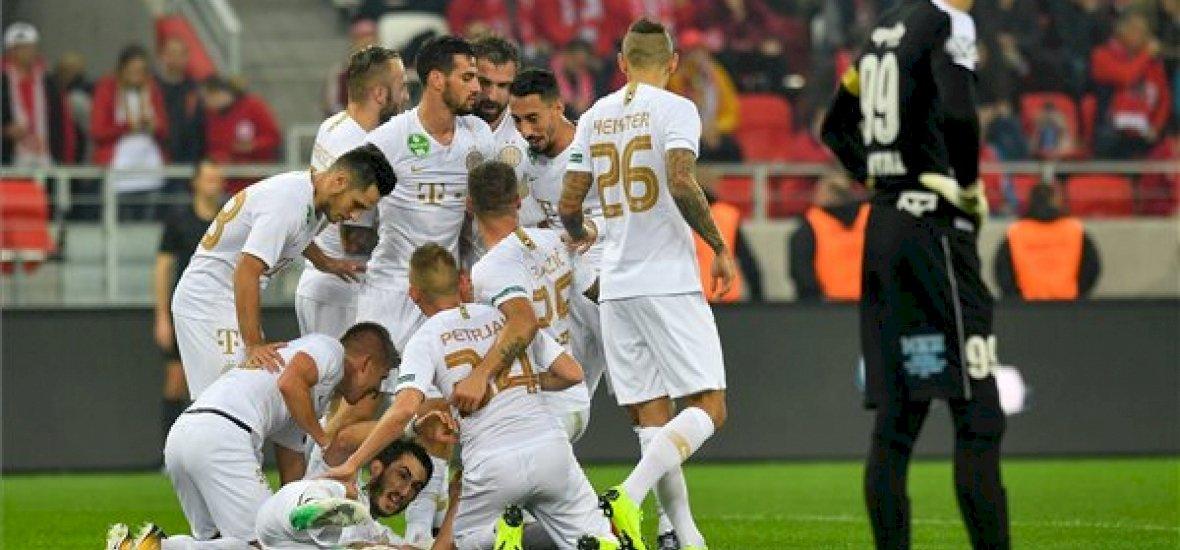 A Ferencváros Miskolcon ütötte ki a DVTK-t