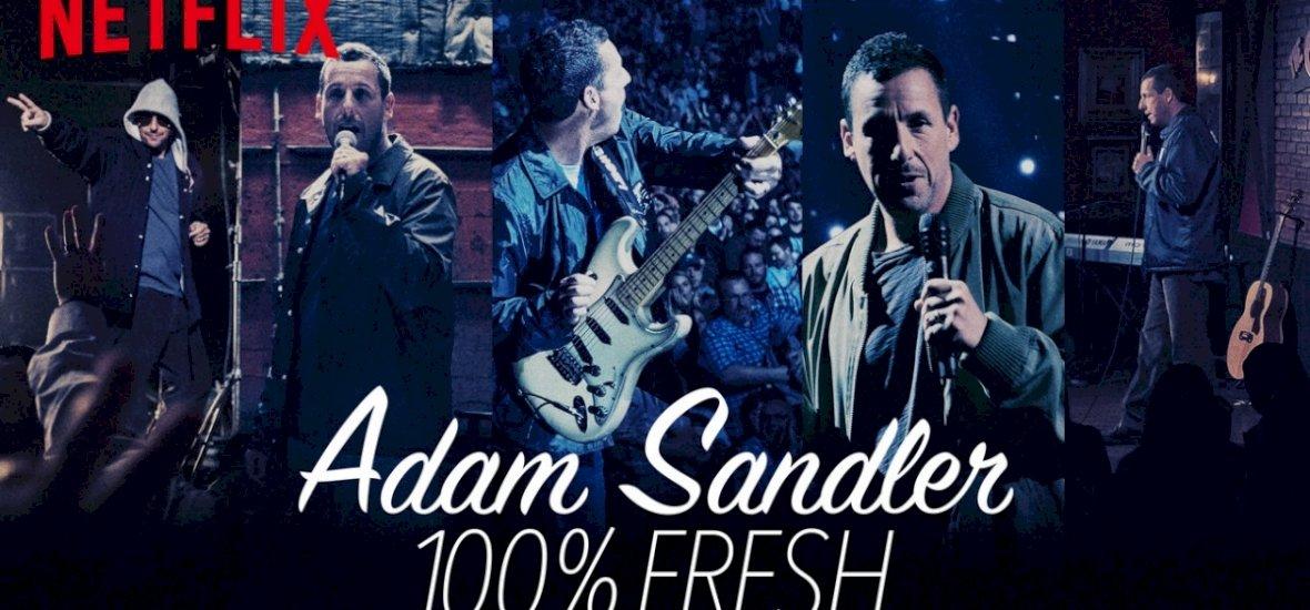 Adam Sandler rappelt egy kiválót a stand-up műsorában