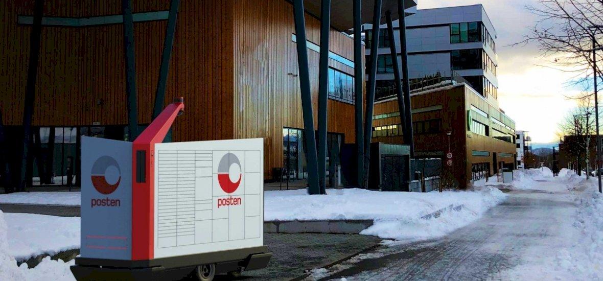 Norvégiában nem sokára robotok kézbesítik a küldeményeket