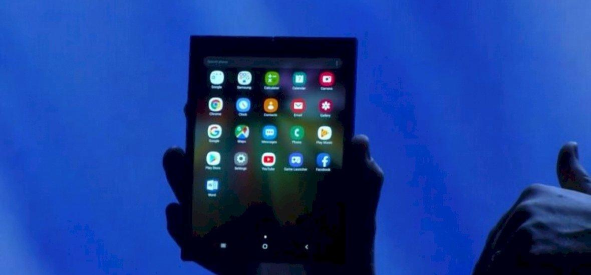 A Samsung is bemutatta a jövő telefonját