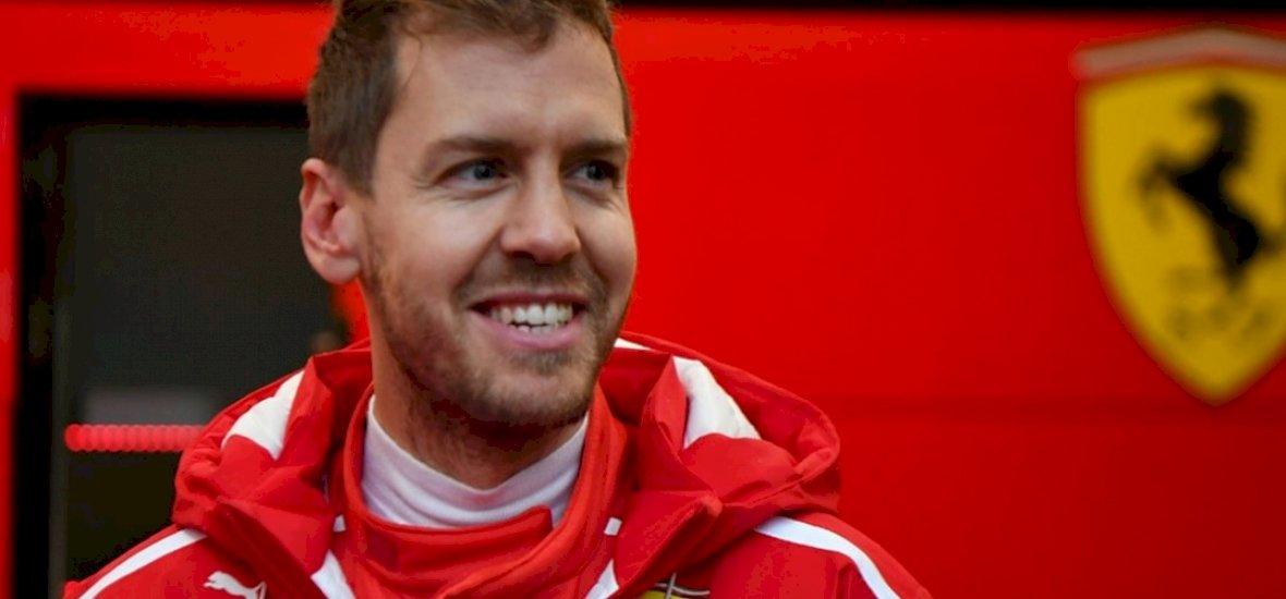 Sebastian Vettel: Valami lóg a lábaim között...