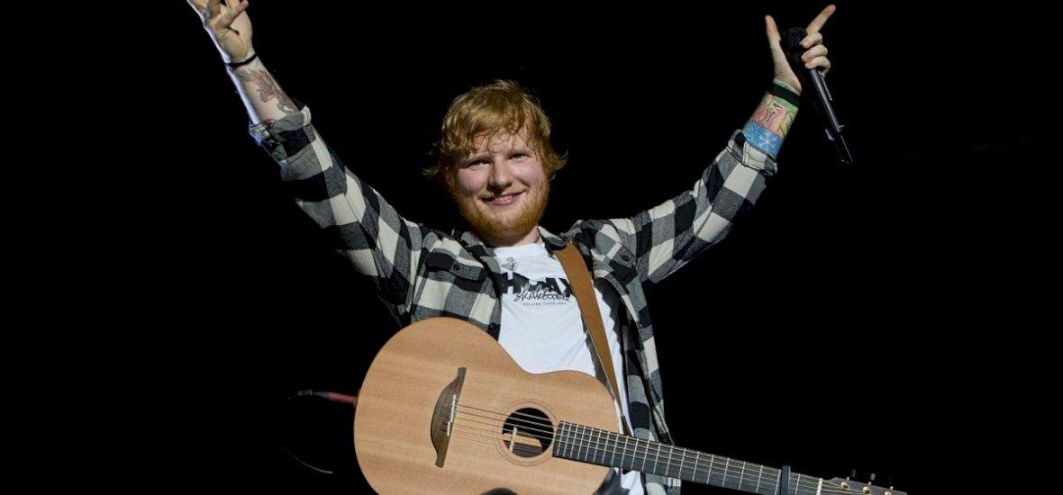 Ed Sheeran a Sziget leggazdagabb előadójaként lekörözte a Facebook-ot
