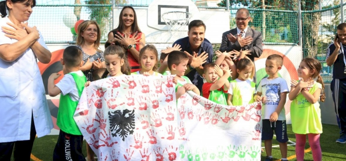 Magyar fejlesztésű program lett az év sport projektje Albániában