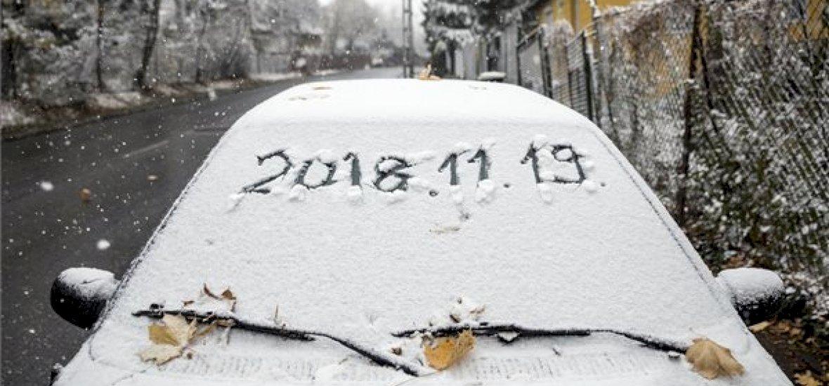 Hazánk több pontja csodás, havas tájjá változott