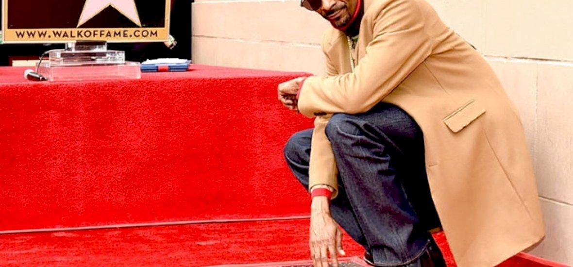 Snoop Dogg magának köszönte meg, hogy hollywoodi csillagot kapott