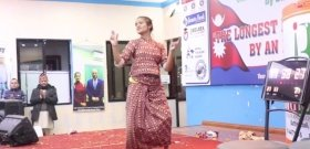 126 órán át táncolt és Guiness-rekordot döntött egy nepáli lány
