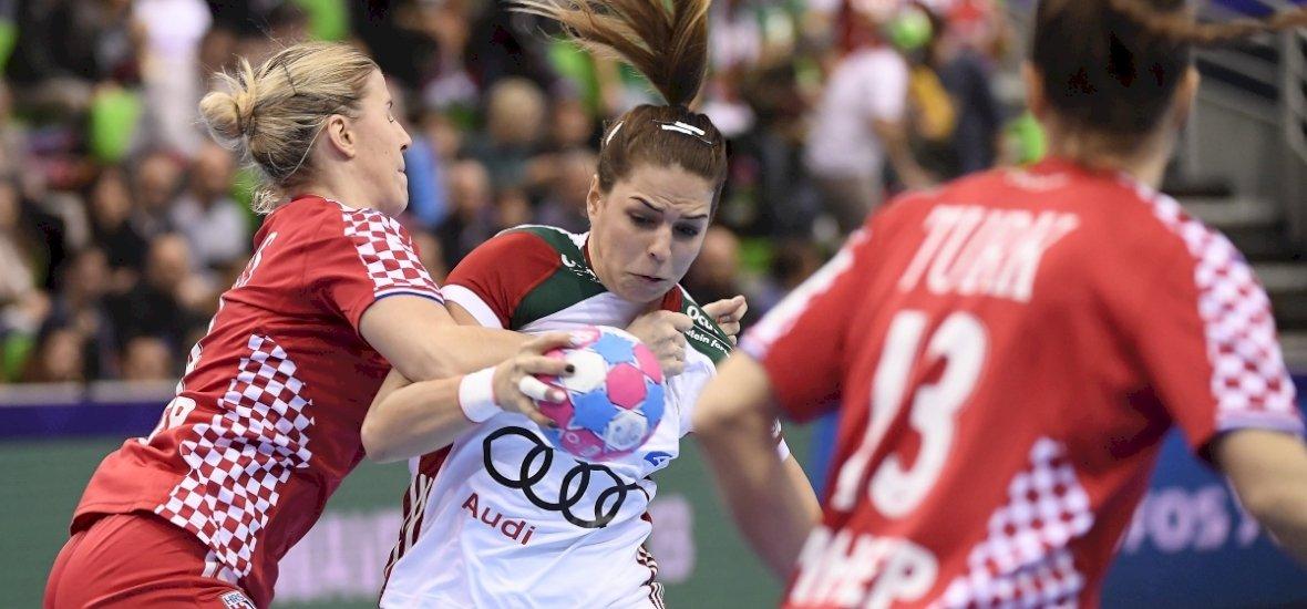 Horvátveréssel karnyújtásnyira az Eb-középdöntőtől a női válogatott