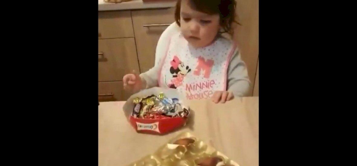 32 millió megtekintésnél tart a csokigyűlölő magyar kislány