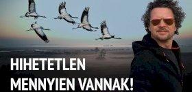 Világszínvonalú rövidfilm készült a hortobágyi darvakról