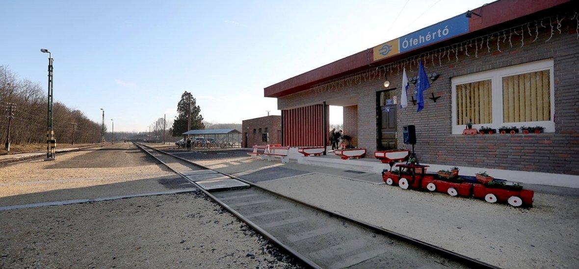 Szabolcs megyében találjuk a legrendezettebb vasútállomást