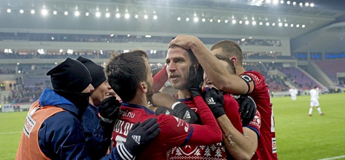 Keménykedés és futball, a Vidi nyerte a Fradi elleni rangadót