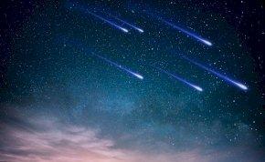Éjjel hatalmas meteorrajt láthatunk, idén a legnagyobbat
