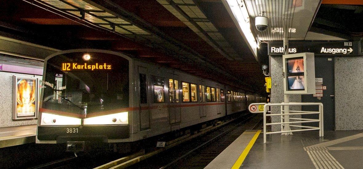 Bécsben innentől ne egyen a metrón