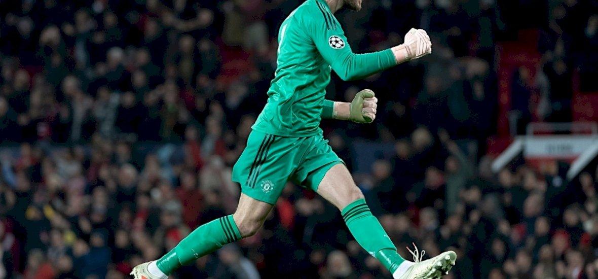 De Gea lehúzta a rólót, rangadót nyert a Manchester United
