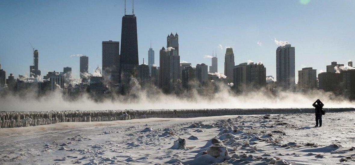 """""""A meleg pára, amit kilélegeztem, ráfagyott a napszemüvegemre"""" – Chicagóból jelentjük"""
