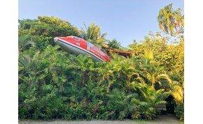 Ötcsillagos tusolás és panoráma egy Boingben a costa ricai dzsungel közepén