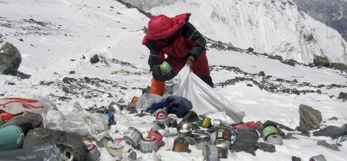 Annyi a szemét, hogy lezárták Mount Everest alaptáborát