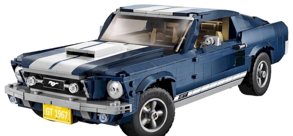 1967-es Ford Mustangot építhetsz magadnak
