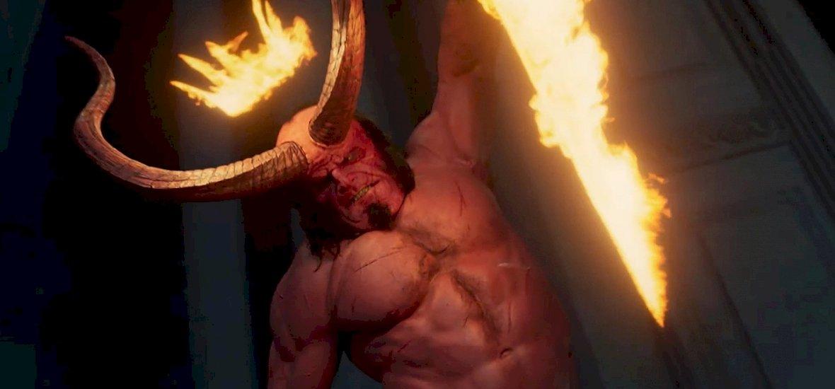 Repkedő végtagok, káromkodó szereplő – itt az új Hellboy-trailer
