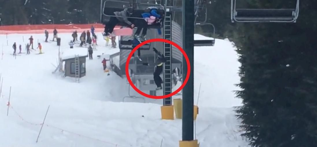 Tinédzserek mentettek meg egy síliftről lógó kisfiút