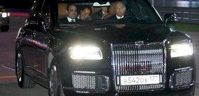 """""""Orosz arany"""": Európában is bemutatták Vlagyimir Putyin kedvenc autóját"""