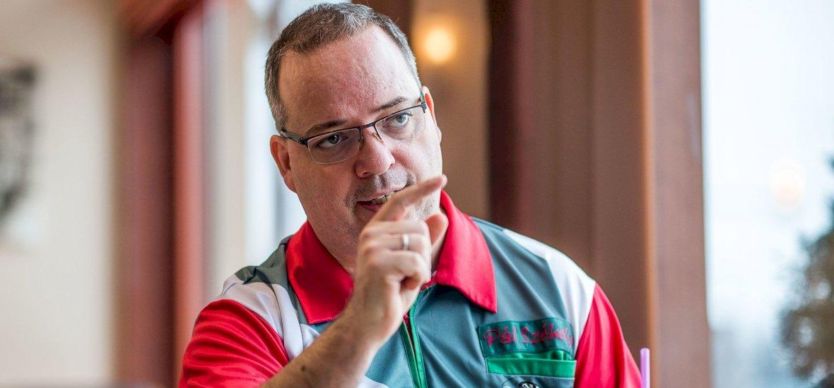 """Székely """"Penge"""" Pál kijutott a PDC rangos hollandiai versenyére"""