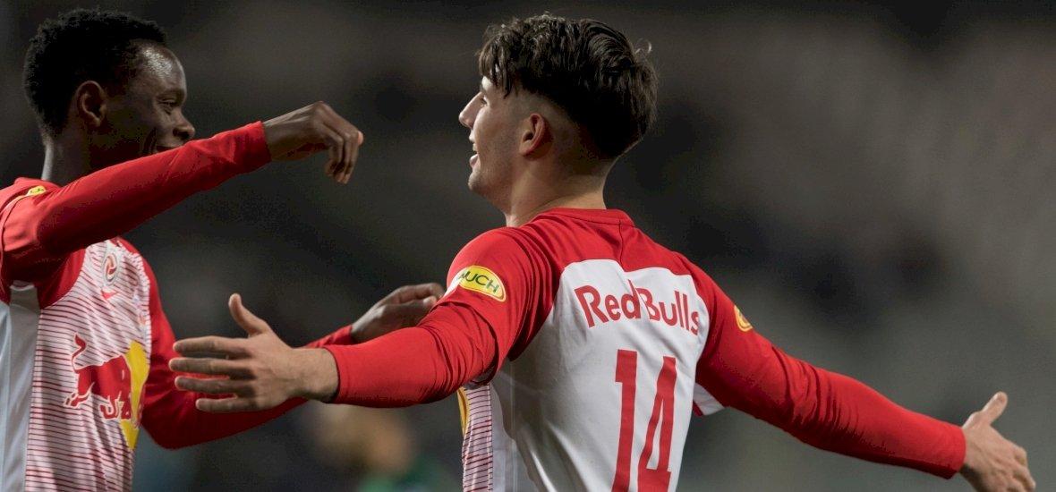 Nincs megállás: Szoboszlai kezdett, s gólt lőtt az osztrák bajnokin