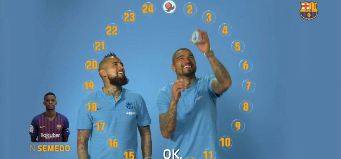 Melyik emoji jellemzi leginkább Messit? Boateng és Vidal megmondja!