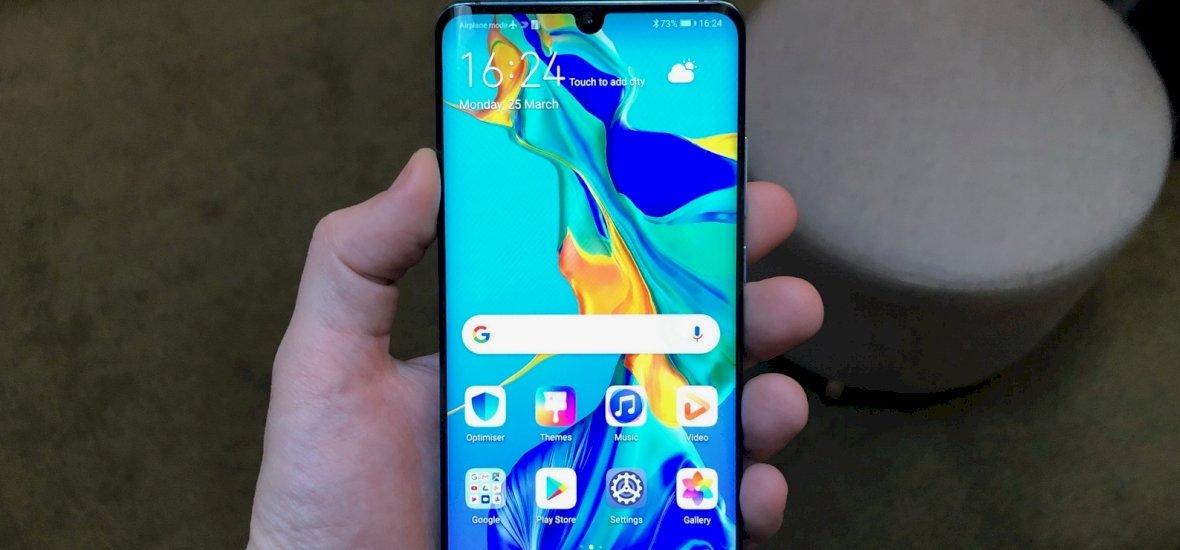 Igazán ütős telefon lett a Huawei P30 és P30 Pro telefonja