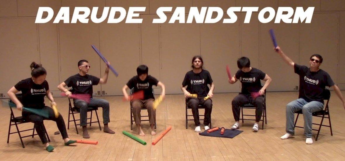 Na, így még tuti, hogy nem láttad előadva a Sandstorm-ot