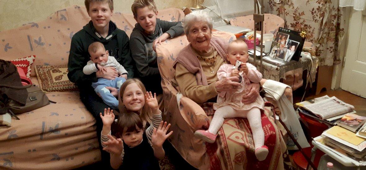 Háborúban született 6 hónapra, 1 kilóval – 103 éves lett Szupernagyi