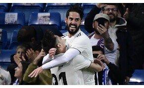 Nyolc éve a labdát szedte Iscónak, most meg gólpasszt ad neki a Realban