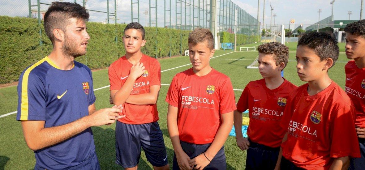 Dabason tanítanak a Barcelona edzői