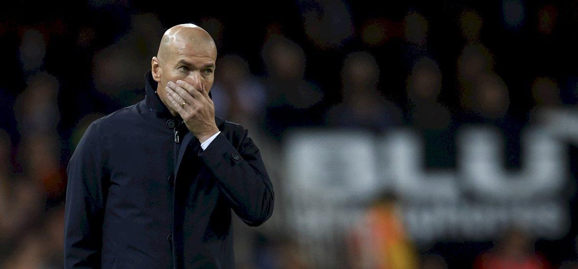 Máris megvan Zidane első veresége a Real kispadján
