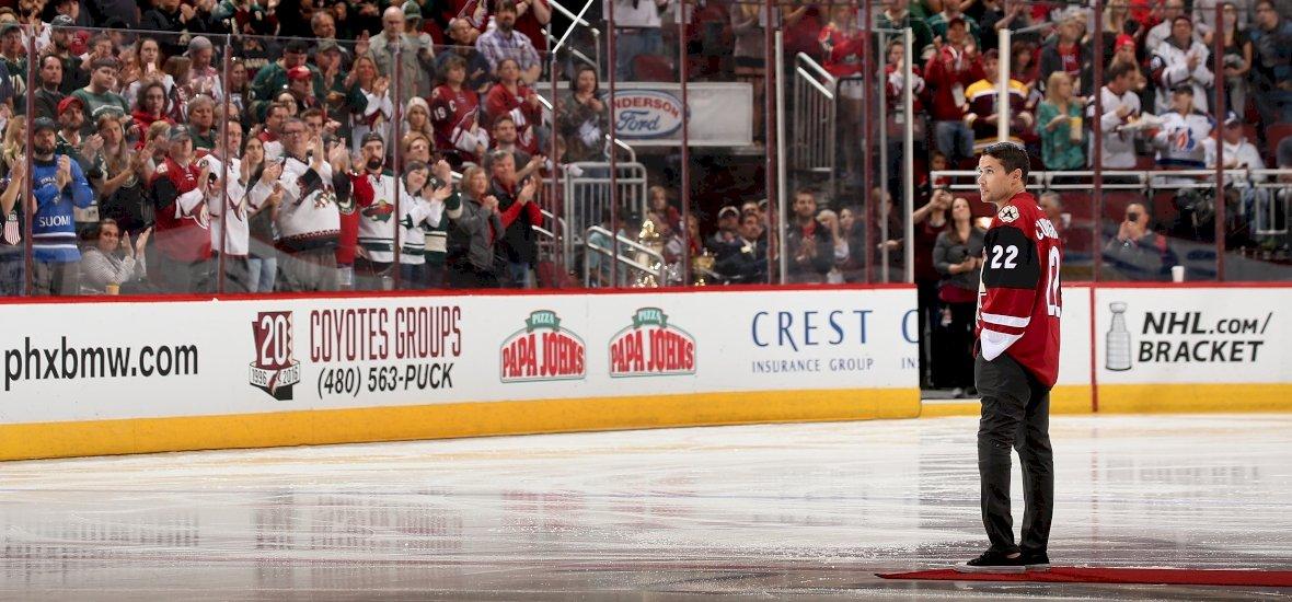 Műlábbal is visszatért a jégre az NHL-es hokis