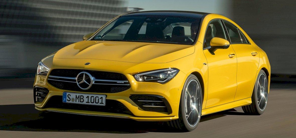 Megmutatjuk a Mercedes új négyajtós sportkupéját