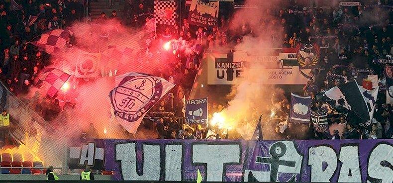 Az újpesti szurkolók a Vidi-stadionból üzentek Szlovákiának