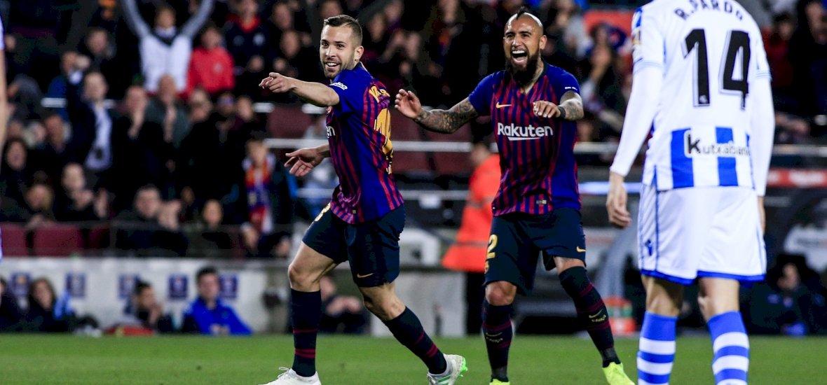 Szűk, de fontos győzelmet aratott a Barcelona