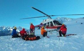 Előkerült az utolsó fotó a lavina által elsodort három hegymászóról