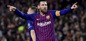 Messi varázsolt, hármat rúgott a Barcelona a Liverpoolnak