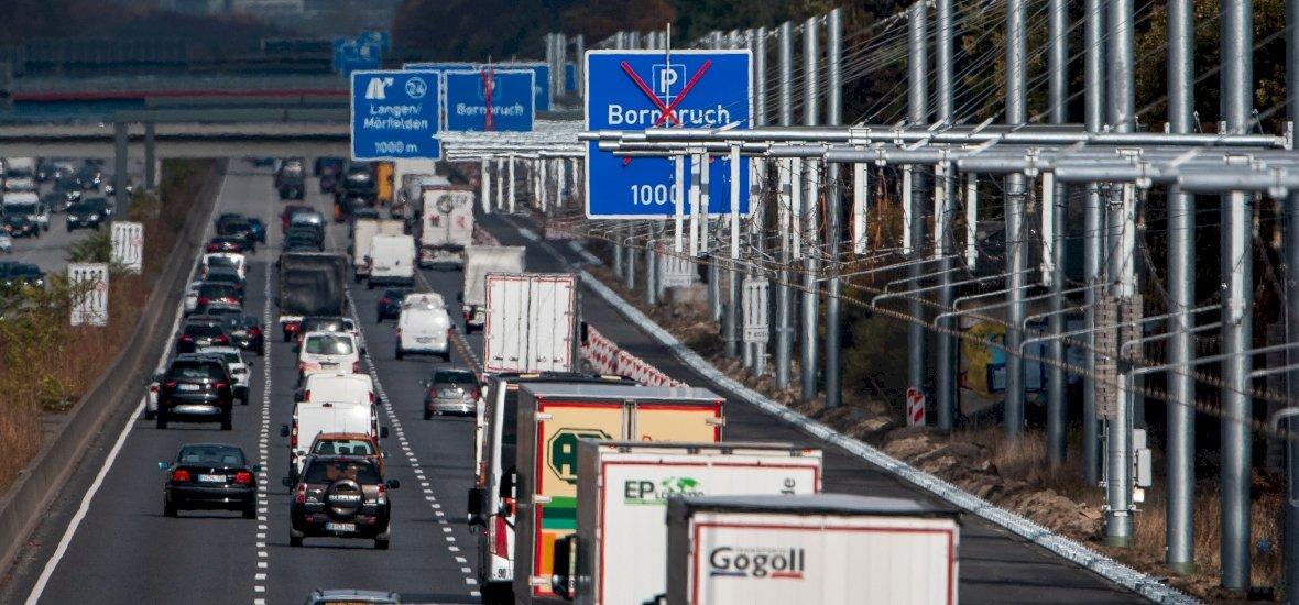 Áramszedők az autópályán? A németek is elkezdték építeni a jövőt