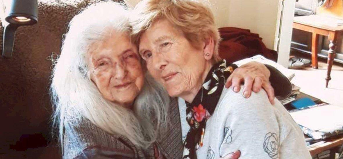 81 éves korában találkozott először édesanyjával egy ír nő