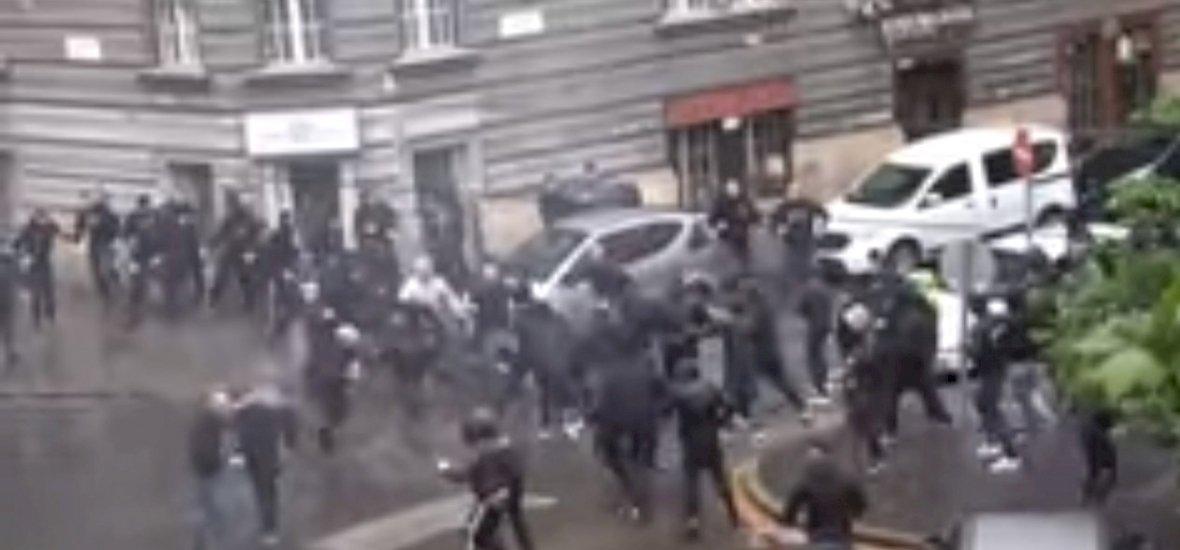 Itt a videó a Fradi-Újpest utcai harcról