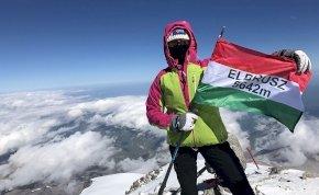 A miskolci lány, akinek a hegymászás sorsszerű küldetés