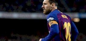 La Liga: egy kivételével, minden statisztikai mutatóban Messi a legjobb