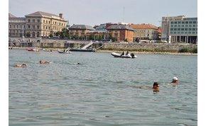 Itt Hosszú Katinka is küzdene: irány a Műszaki úszva, a Dunán át