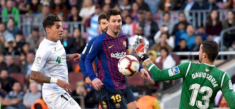 Nézze meg Messi összes gólját a spanyol bajnokságban
